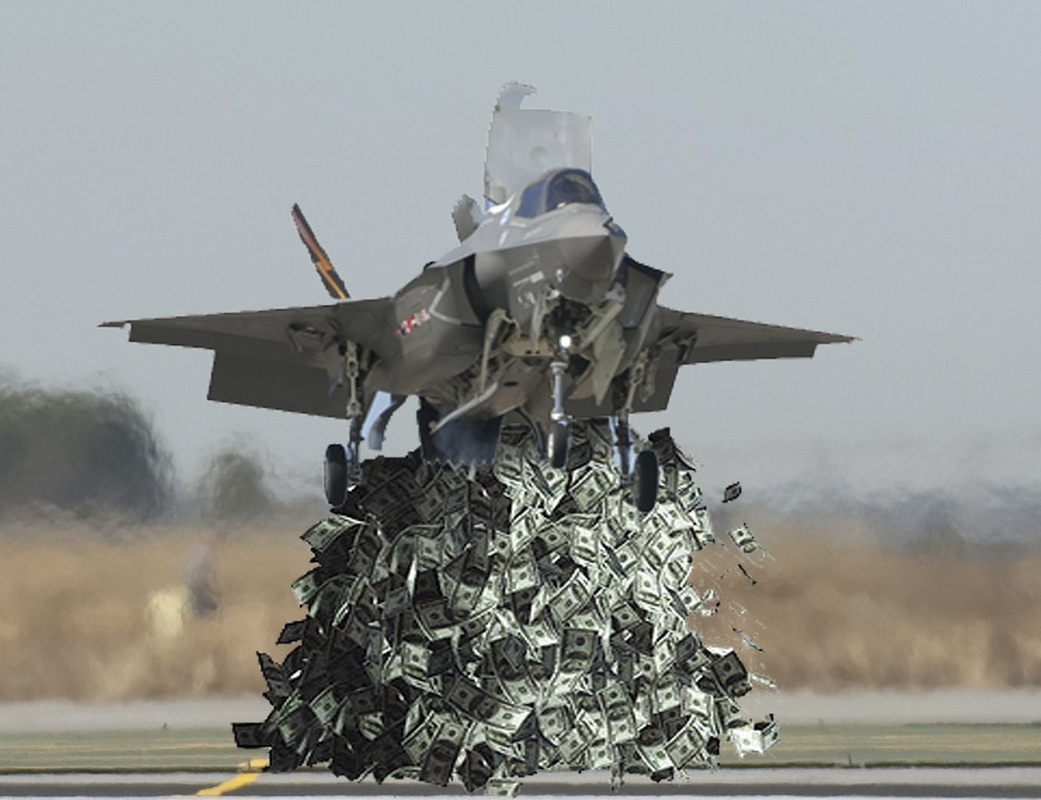 The Great F-35 Lightning II Boondoggle–1/3