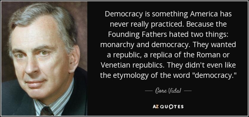 Gore_Vidal on Democracy