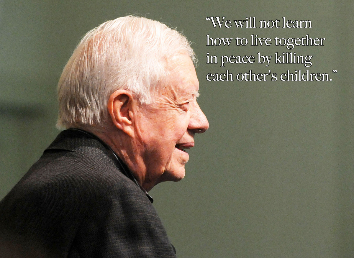 Jimmy Carter on American Militarism and China's Incredible Progress