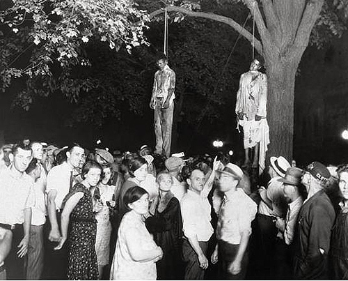 lynching blacks America