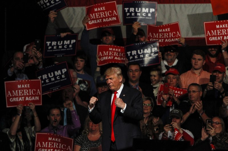 Donald Trump Holds Campaign Rally In Bangor, Maine